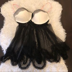 Victoria's Secret babydoll lingerie